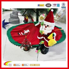 2016 New year Tree skirt for Christmas gift, Tree skirt manufacturers & wholesales & exporters