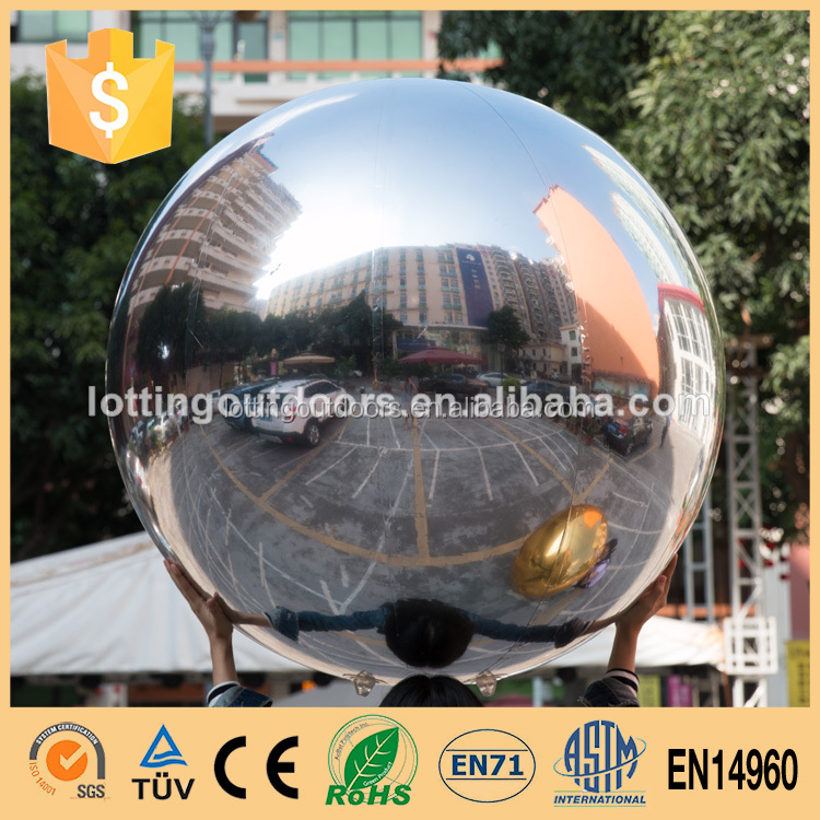 2015 Hot Decoration Inflatable mirro ball disco lights mirror ball