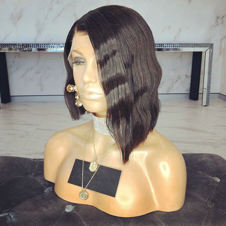 New Product Tangle Free Peruvian Hair Lace Wig Factory Under $5 Making Machine