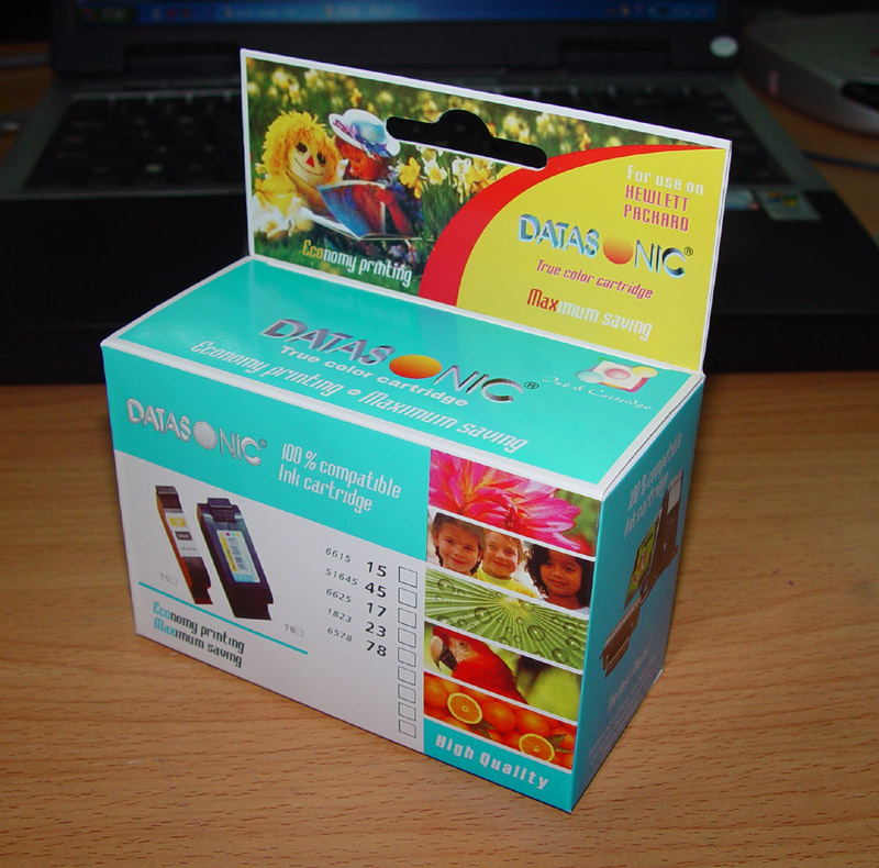 Five Star quality attractive package ink cartridge for HP