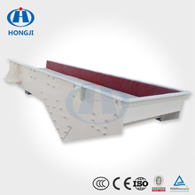 High efficient durable vibration pan feeder with ISO CE approved