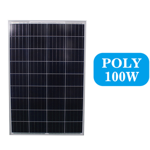 China Manufacture PV Solar panels 100w poly for cheap price