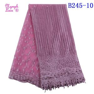 french chemical nigerian embroidered organza fabric wedding lace guangzhou korean ankara with stones purple lace indian fabric
