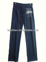 2013 lady's organic cotton spandex loose pants