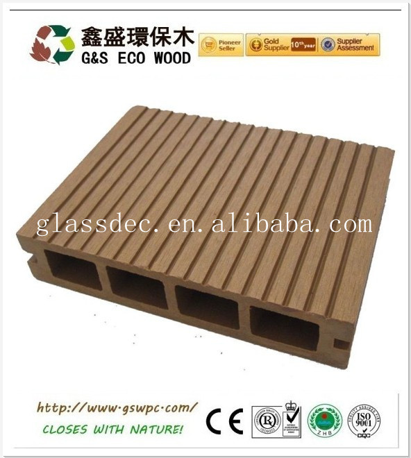 newteck 2015 Ecological WPC floor/decking Composite floor Bridge/ Swimming pool flooring/decking