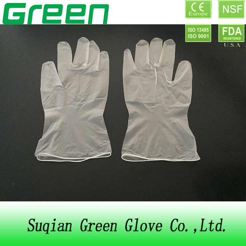 disposable single pair gloves vinyl