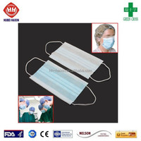 Disposable Hospital Earloop Dental Face Mask For Nurse and Doctor