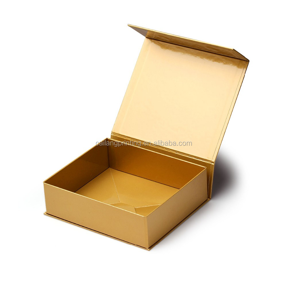 New Design Luxury Cheap Custom Gold Printed Paper Folding Gift Box/ Color Box/Cardboard Package manufacture