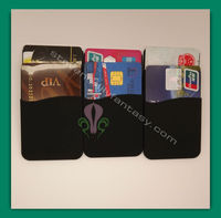 2013 hot selling product latest 3m sticker smart wallet silicone back phone pouch silicone smart wallet purse