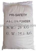 Standard of 50 % en615 abc dry chemical powder for fire extinguisher
