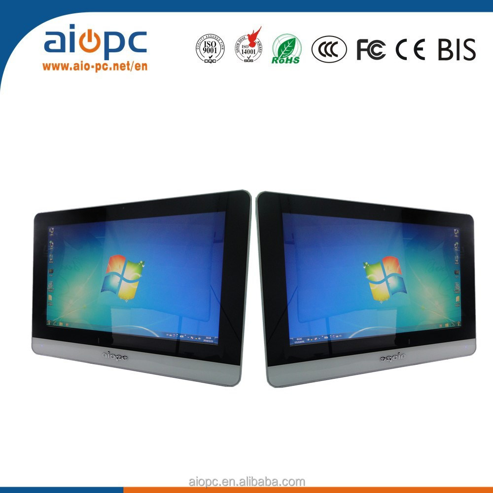 2018 Factory innovative products new design for distributor wholesaler with DVD RW driver touch desktop computer gaming laptop