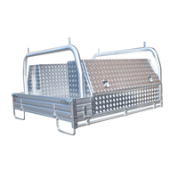 Aluminum Ute Tray With Tool Boxes For Sale