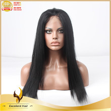 Buy cheap Synthetic Wigs online yaki straight hair lace wig