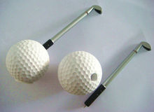 plastic table golf pen stand
