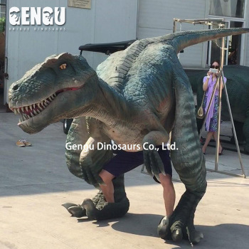 Amusement Park Or Dino Park High Quality Animatronic Dinosaur Costume