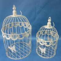 Chinese manufactures wholesale ornamental pet product cheap vintage wrought iron decorative metal bird cages wholesale