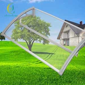 Factory direct sale Building plastic material solid polycarbonate awning canopies