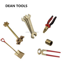 Non Sparking Tools , Handle Manual Copper Alloy Beryllium Bronze Non Magnetic Hammer Wrench , Plier