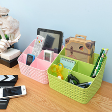 Plastic office desk accessories organizer, Pen Holder for Home or Office