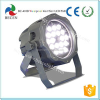 Outdoor strobe RGBWA Mini ip65 led par 64 light