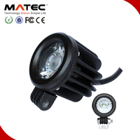 Factory Price 10w 10-30v DC Motorcycle Led Working Light