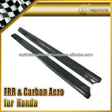 For Honda S2000 S2K AP1 AP2 Carbon Fiber Side Skirt Steps Add-on Extension