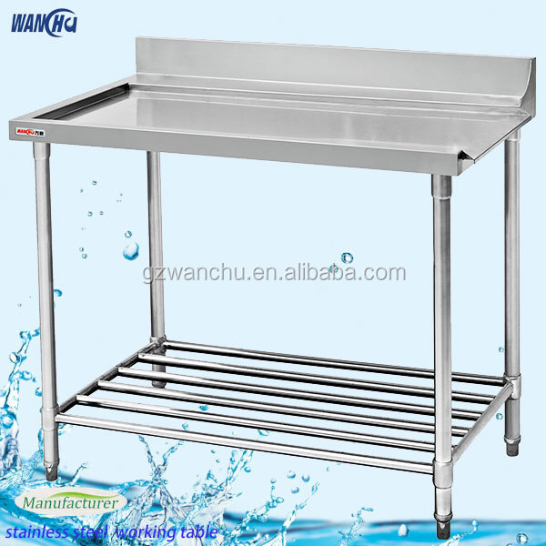 Stainless Steel Dishwasher Table China Factoryheavy Duty Stainless - Stainless steel dishwasher table