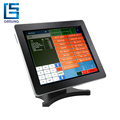 China Made 17 Inch Metal Case Pos Terminal Touch Screen with 3G/WIFI/VFD display