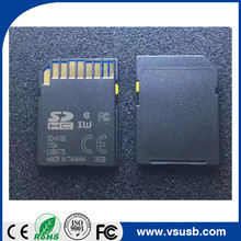 Custom Black color white tab lock SD card CID change 32gb 64GB 256GB