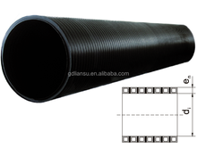 HDPE Spiral Enhanced Corrugated Pipe /corrugated conduit for drainage