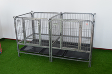 Hammertone Folding Stainless Steel Dog Cage