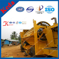 China Gold Mining Trommel Screen Small Gold Mining Machine