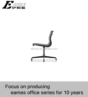 fashion design office chair all black cool design executive chair armless chair without wheels