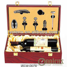 Lacquer Made In China Wood Wine Accessories Box
