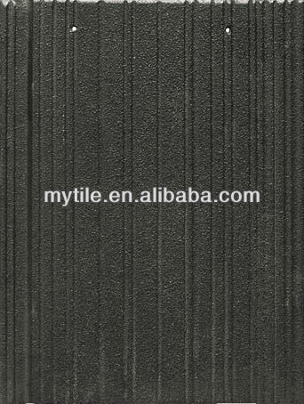 black roof tiles pressure resistance flat concrete roof tiles for sale