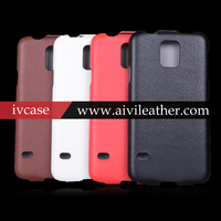 2014 New black leather case for Samsung Galaxy S5 i9500X