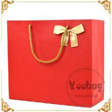 factory directly custom fancy gift bags india with gold stamping LOGO