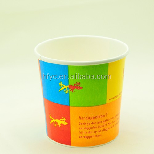 Custom Printed high quality Ice Cream Paper Cup/frozen yogurt cup