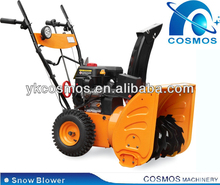7HP Electric Start Gasolien Snow Sweeper With Loncin Engine