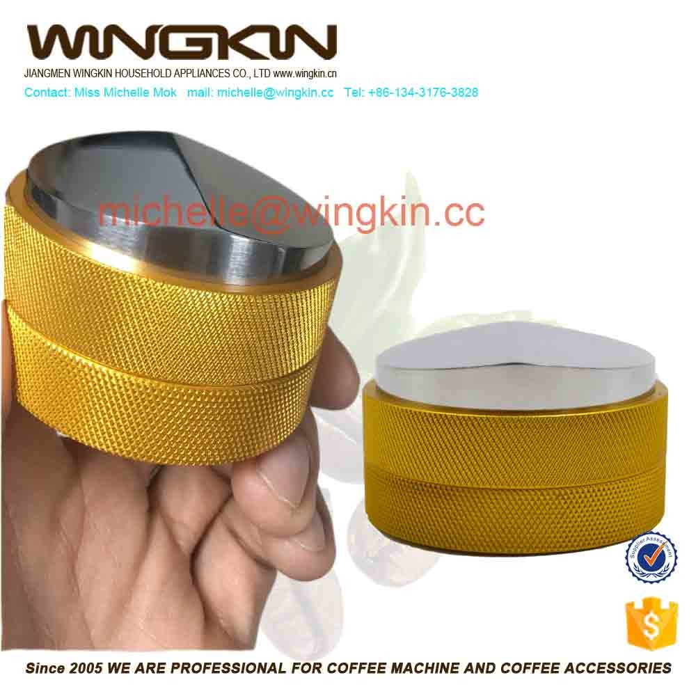 coffee distribution tamper/espresso tools macaron coffee tamper evident effect