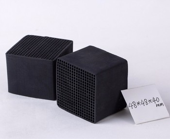 High Adsorption Honeycomb Activated Carbon Square For Air Purification