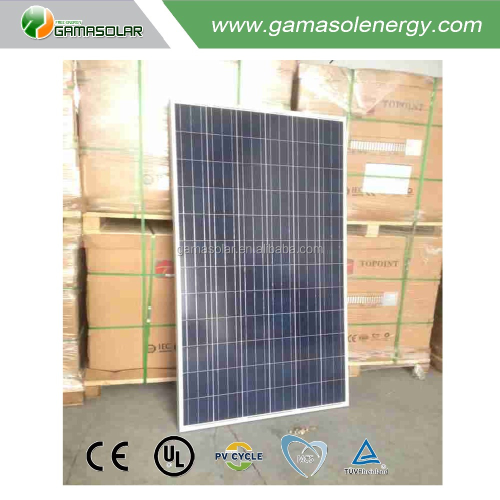 Gama Solar import solar panels 300w high power high quality with long service life