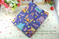 9.7 inch Tablet PC Cute Cartoon Cat PU Leather Stand Smart Cover Case for iPad 2 3 4, Folding Wallet Stand Leather Case