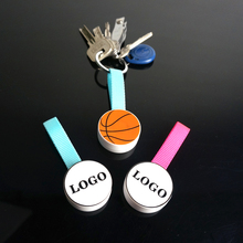 Merchandising Promotional Gift Factory Price Led Light Bulb Key Chain For Daily Occasion