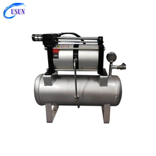Hot sale USUN Model:4AB02 10-16 Bar air pressure booster system for electrical product testing