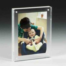 high transparent magnetic acrylic picture frame insert for sales