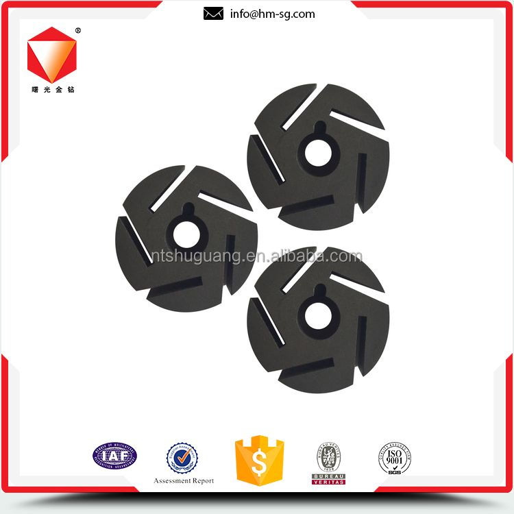 Environmental discount graphite carbon rotor impeller