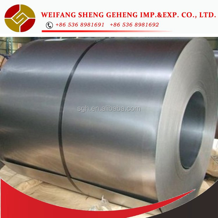SPCC Cold rolled steel coils with material specification
