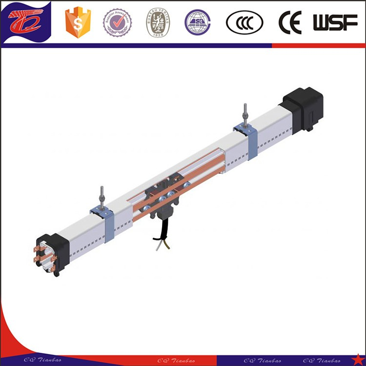 50A-300A Enclosed Conductor Bus Bar System