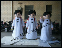 funny arabic boy cartoon mascot costume